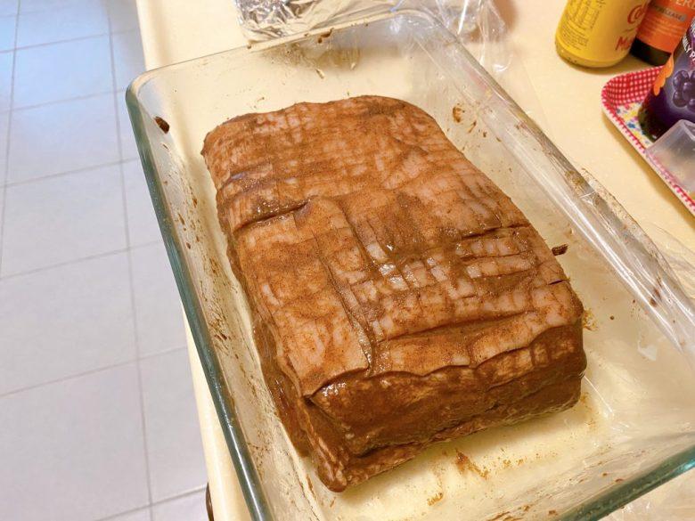 how to score pork skin make crispy pork belly