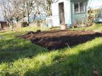 Top dressing the veg patch