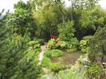 View over the Japanese garden - Gardone