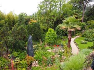 View over the Heller garden