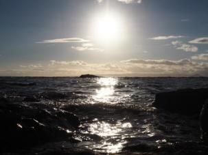 Summer evening west coast Scotland