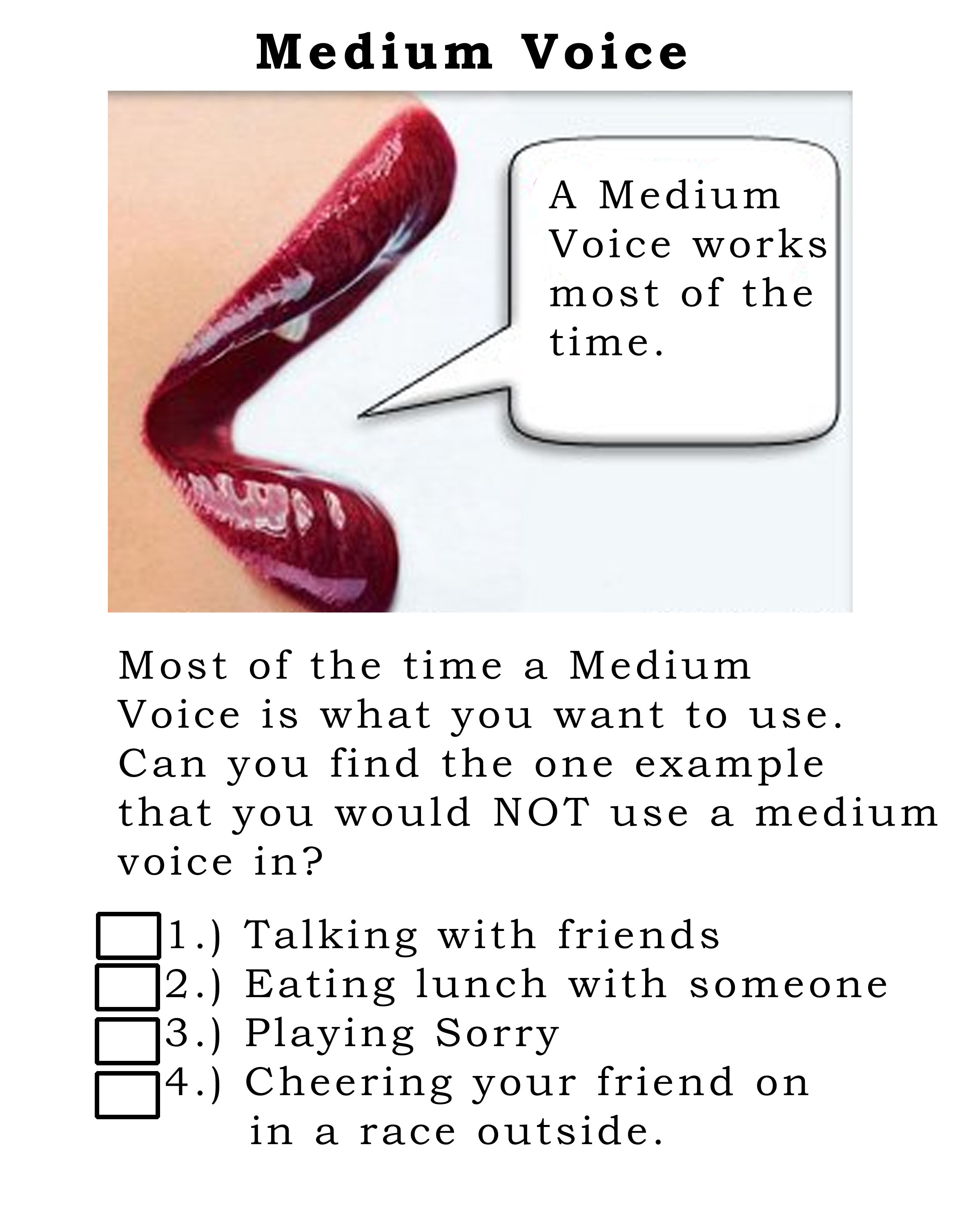 Lesson Plan For The Week Voice Modulation