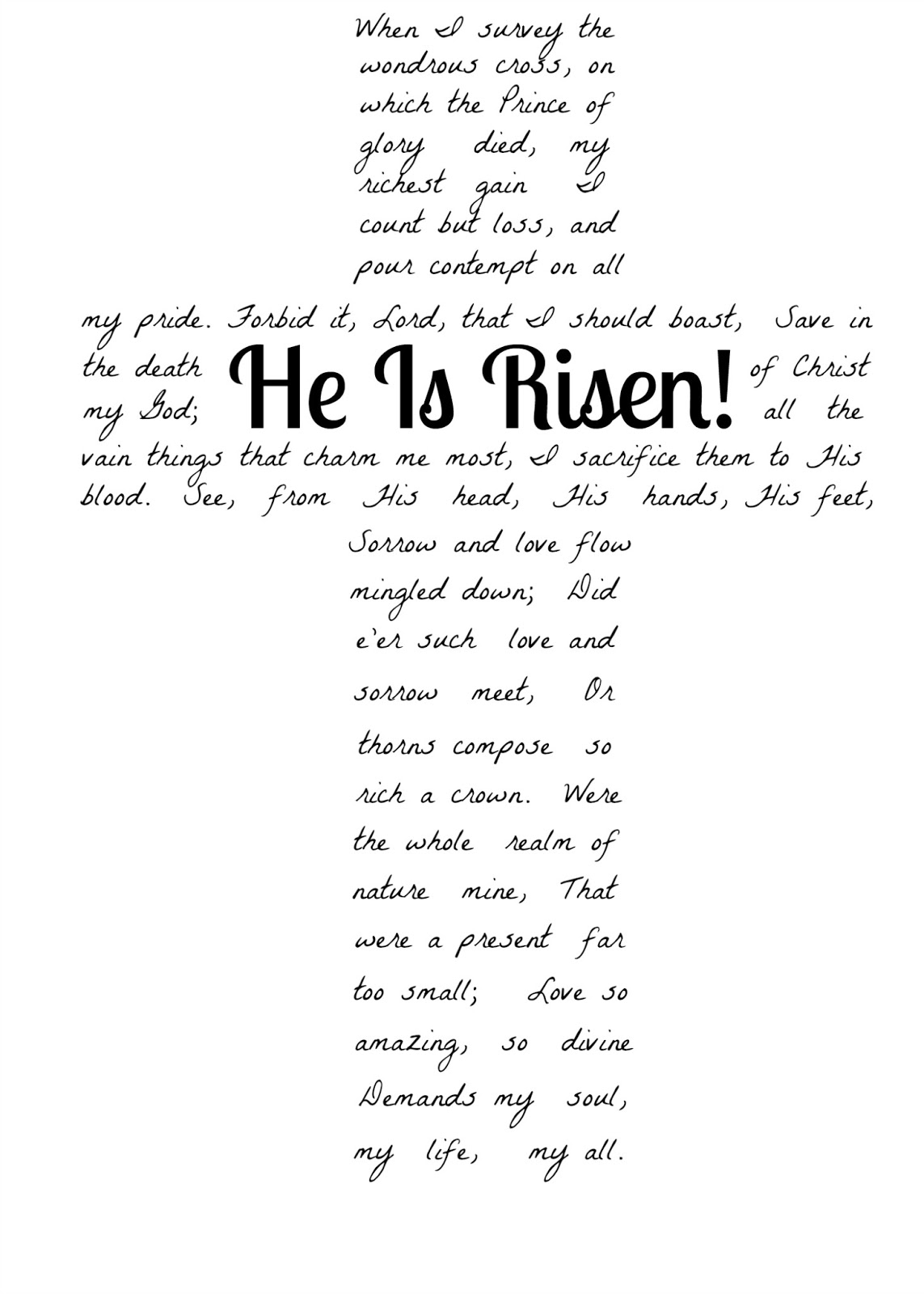 The Hope Of Hannah March 31 He Is Risen