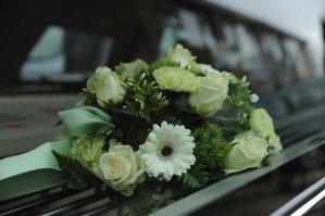 flowers, funeral, memorial