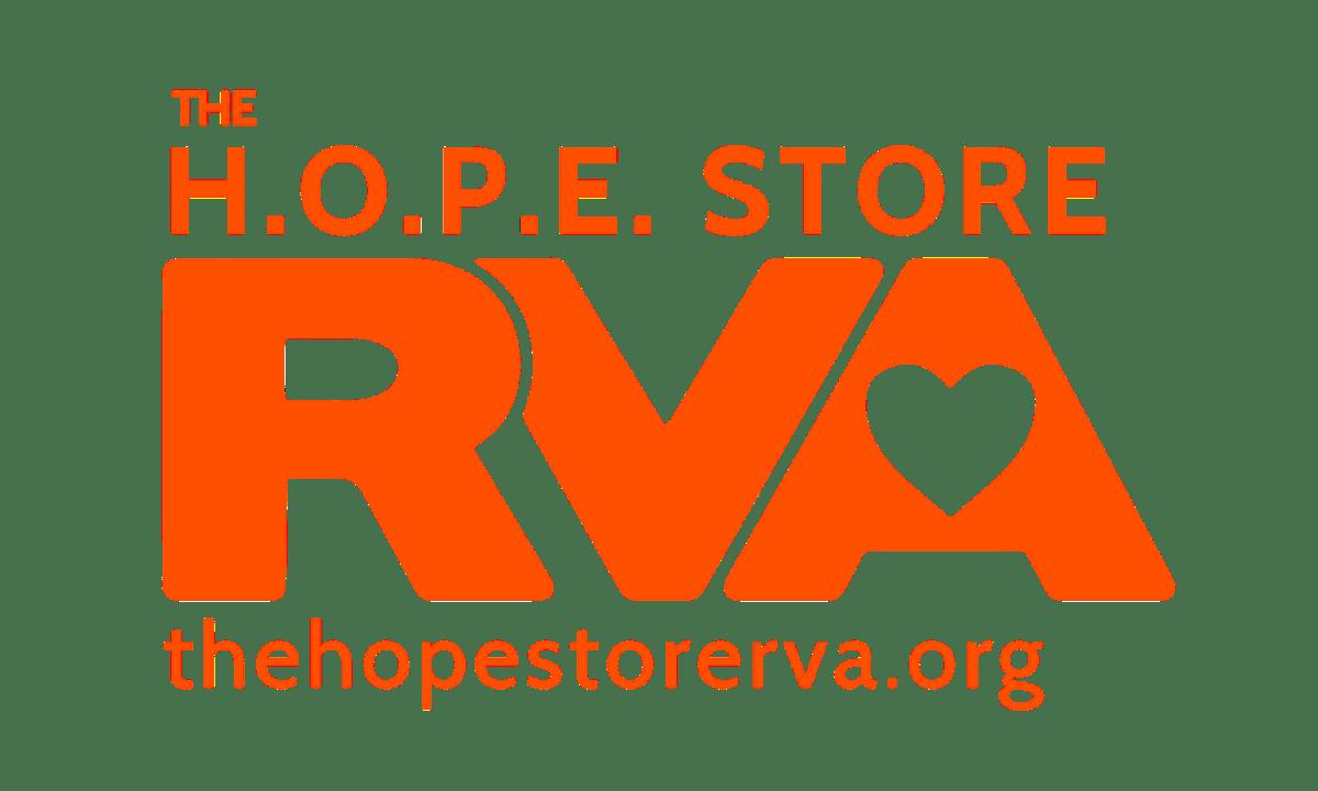 The H.O.P.E. Store RVA Logo