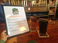 Altamont Brewing co. rotating taps