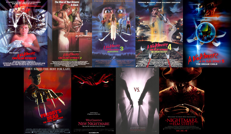 Image result for nightmare on elm street franchise