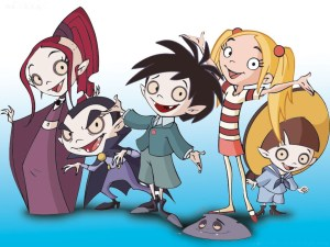 School For Little Vampire Cast