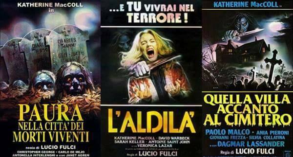 Triple Feature Friday Lucio Fulcis Gates Of Hell Trilogy The