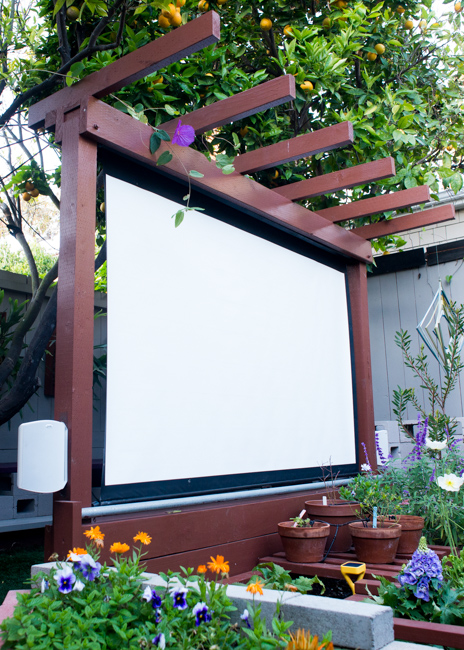 show thyme how to build an outdoor theater in your garden the horticult