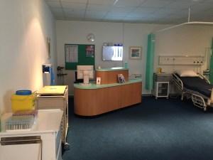Hospital Ward and Receiption Film Studio