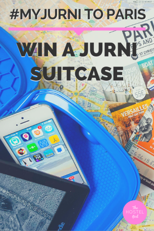 COMPETITION MyJurni to Paris (Photo Diary) and Jurni Suitcase Giveaway