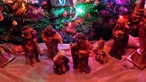 wait, manger scene