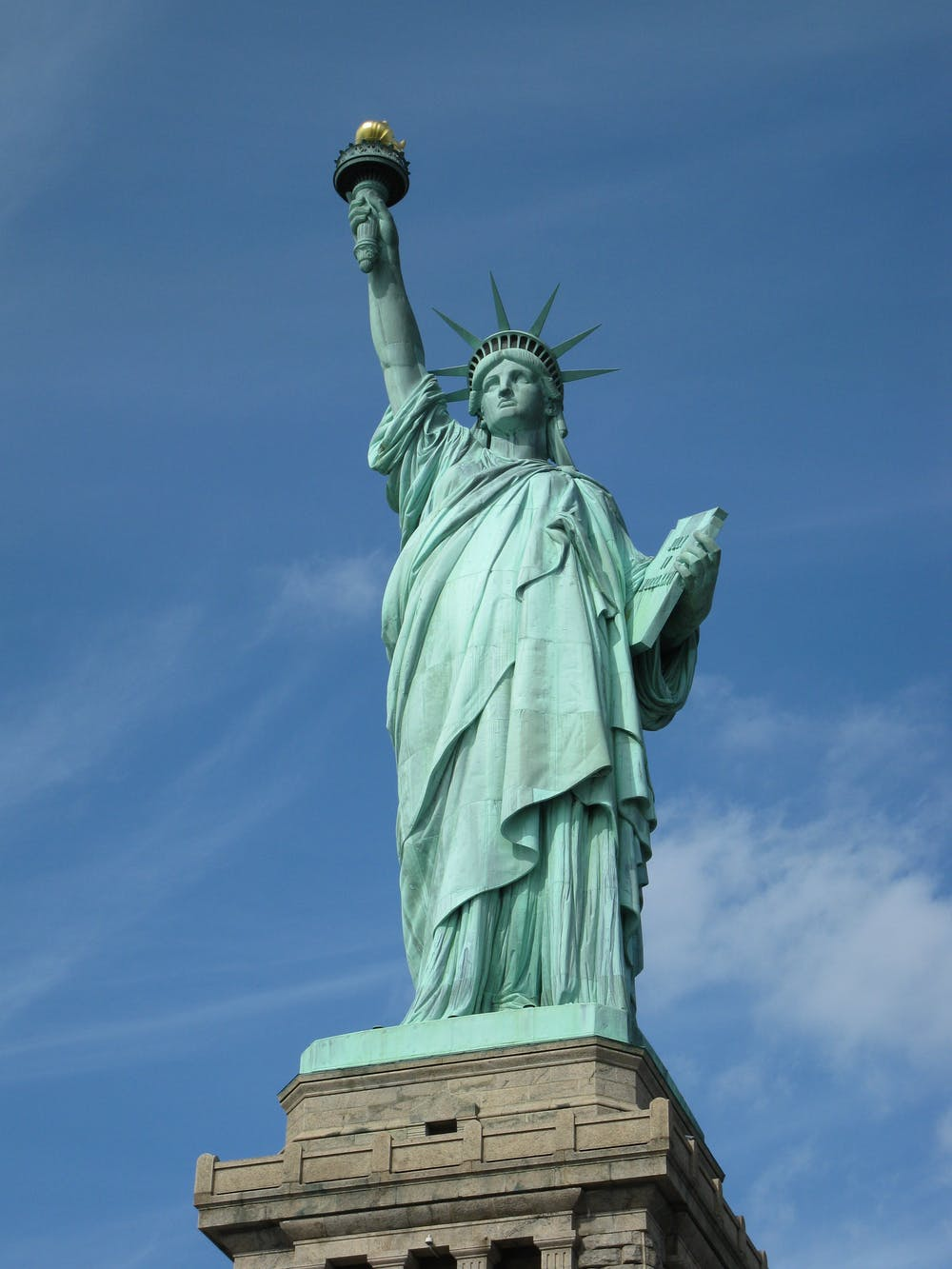 state executive orders, statue of liberty