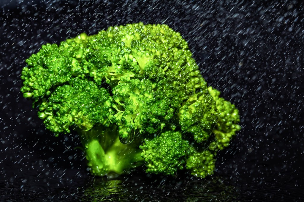 freezer, broccoli
