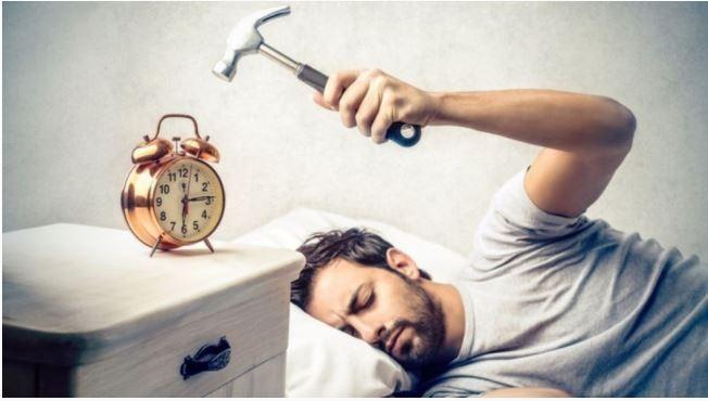 Morning, alarm, hammer