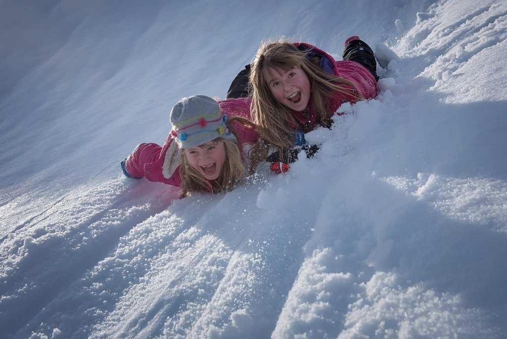 Winter, snow activities
