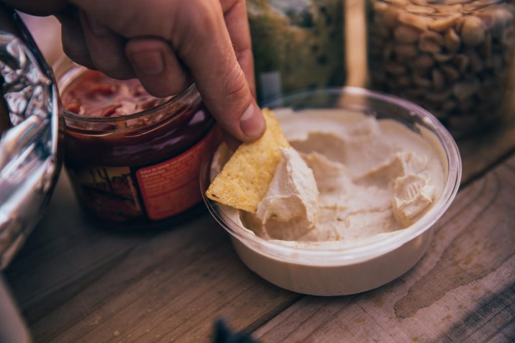 Blood sugar Bowl of Hummus
