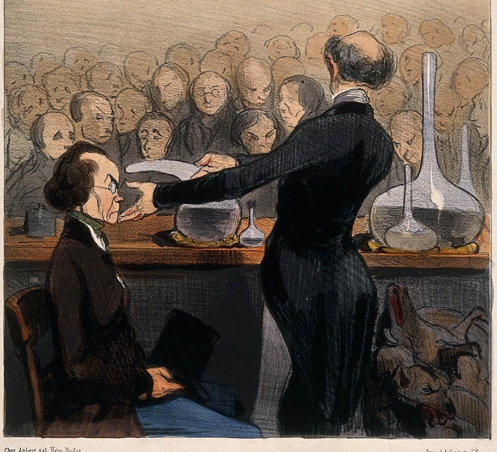 Doctors, demonstration