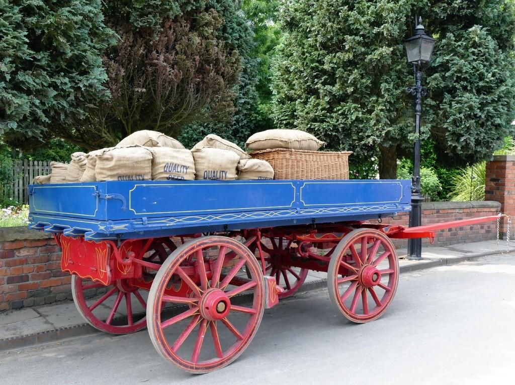 Economy cart without horse