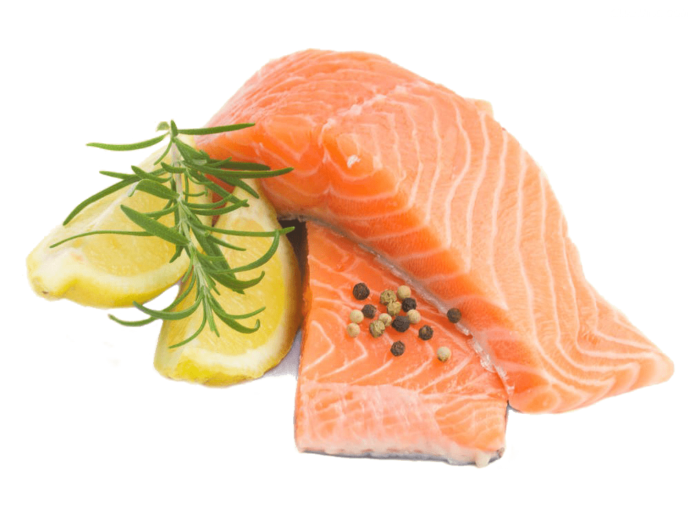 Substitute beef with salmon