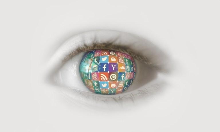 Social media Eye -- The Hot Mess Press