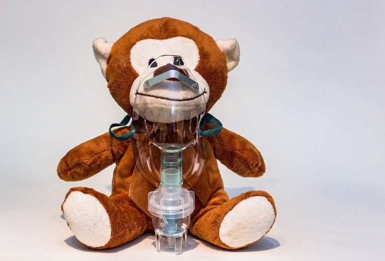 Allergy Asthma Teddy -- The Hot Mess Press