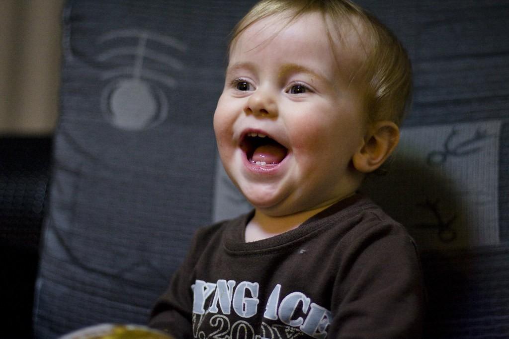 Laugh baby
