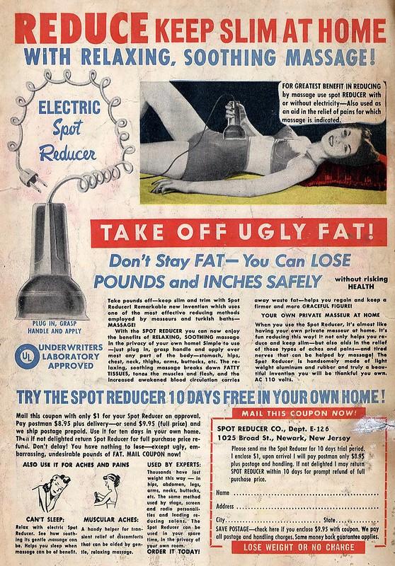 Fads spot reducer vibrator