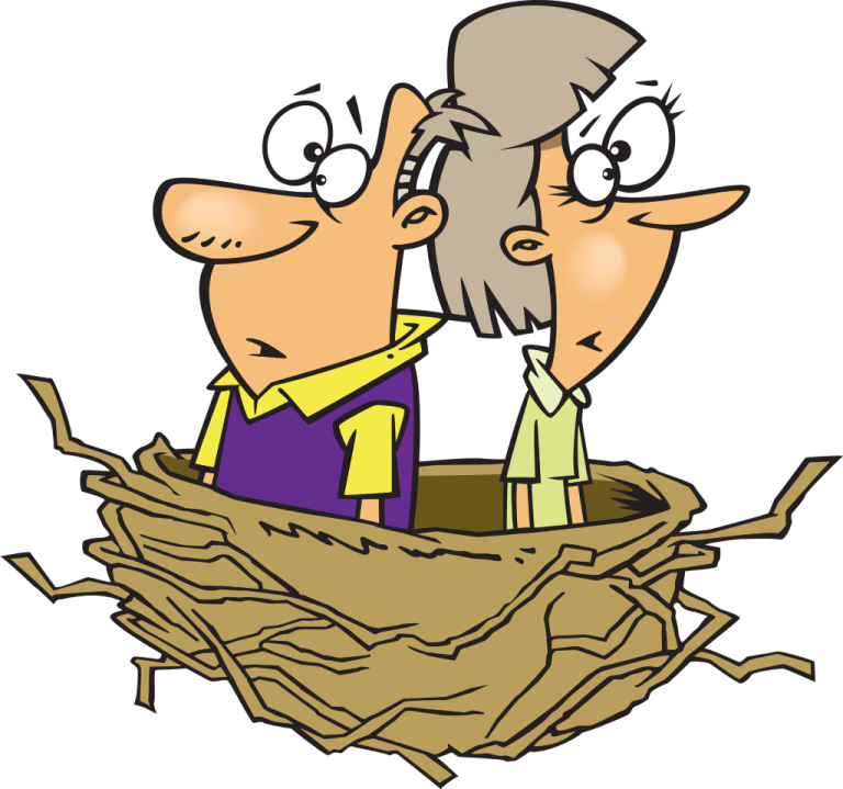 Empty nest syndrome -- The Hot Mess Press