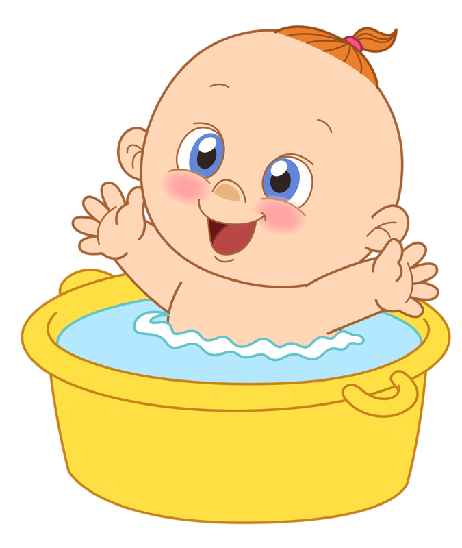 Mothers baby bath