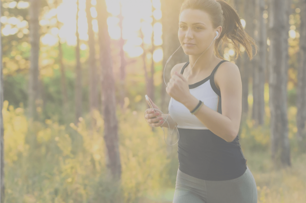 feel more rested, woman jogging