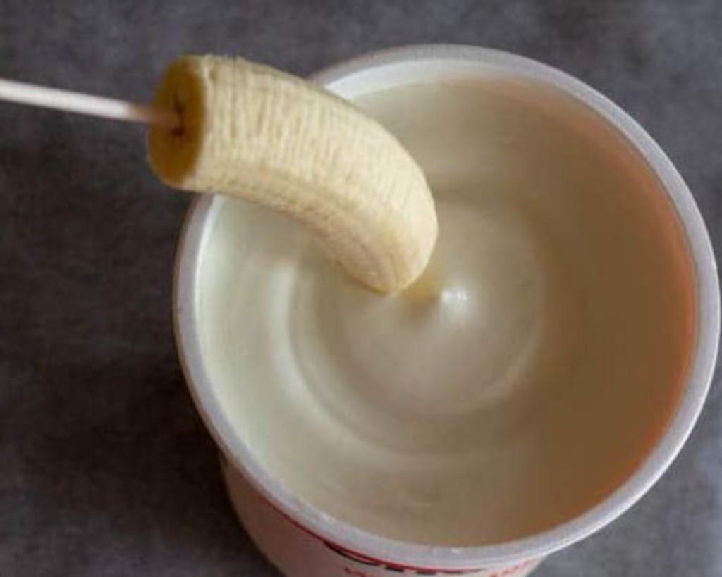 Weight Loss Banana pops