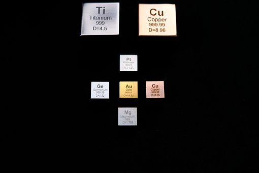 get healthy, chemistry table for magnesium and copper