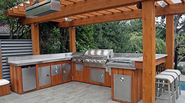 outdoor patio kitchen design idea Outdoor Kitchens - The Hot Tub Factory - Long Island Hot Tubs