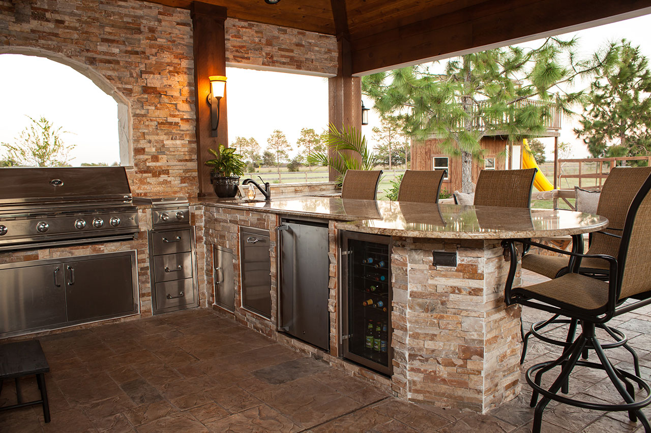 Outdoor Kitchens - The Hot Tub Factory - Long Island Hot Tubs on Patio Kitchen  id=87645