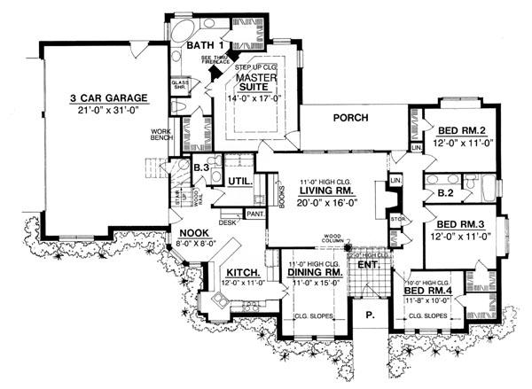 CREATIVE HOUSE PLANS « Unique House Plans