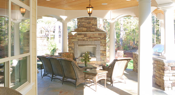 House Plans: Outdoor Living Spaces Popular Feature In New