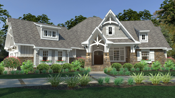 1 1/2-Story House Plans