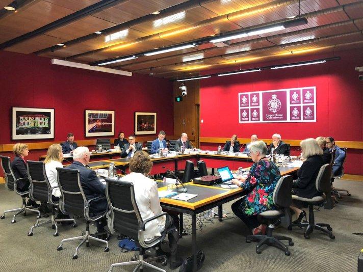 Haberfield community representatives - 11 October 2018