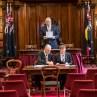 The Honourable John Ajaka re-elected as President of the Legislative Council