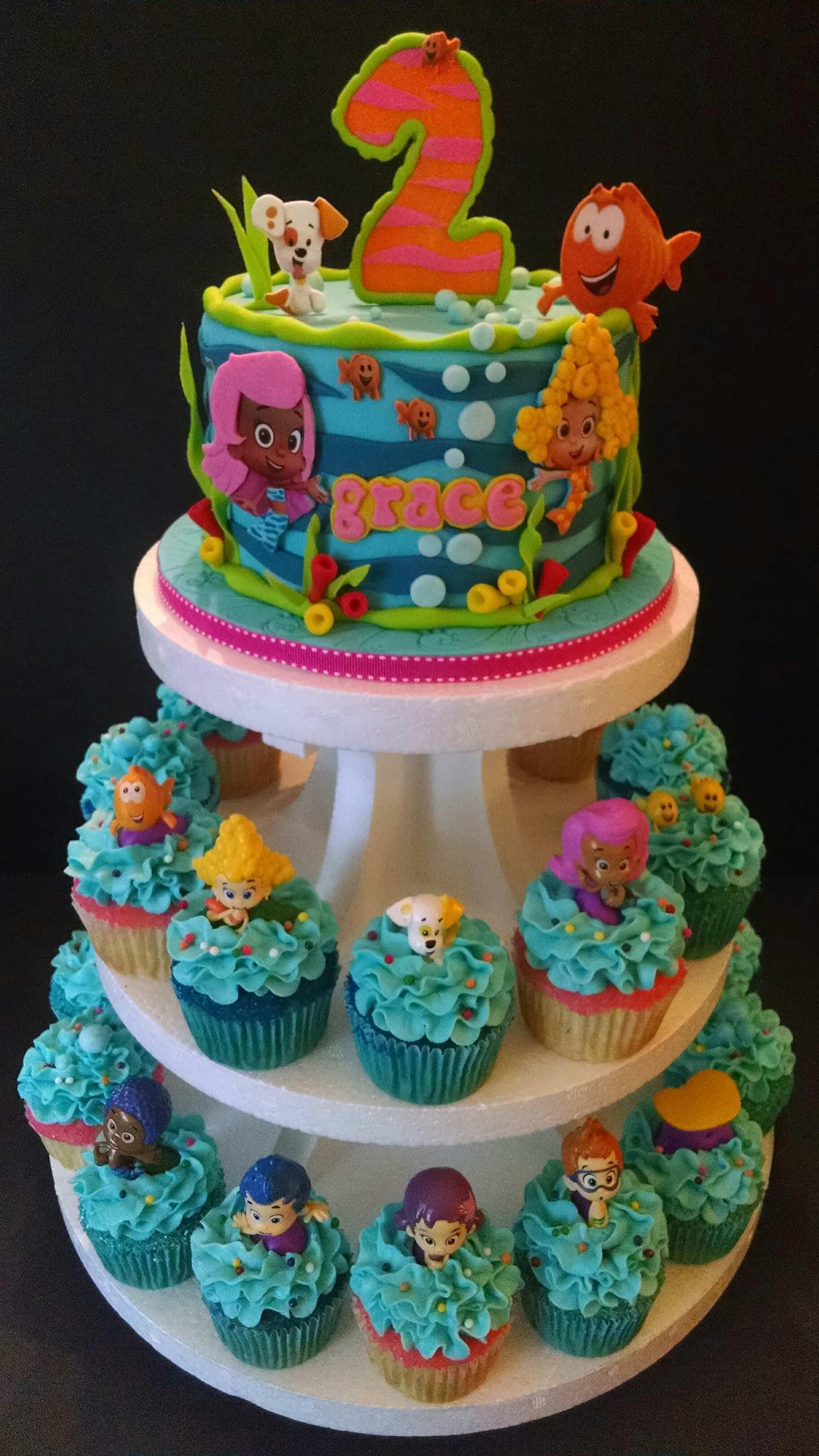 Pin Bubble Guppies Birthday Cake Cake