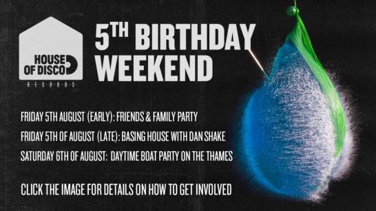 HOD Birthday weekend