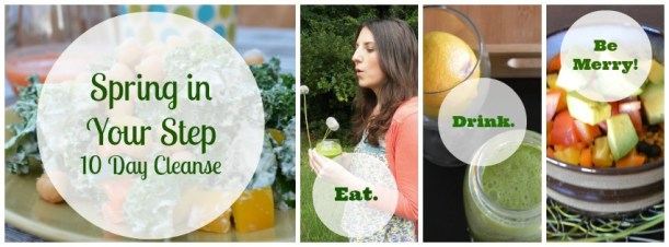 Spring Cleanse Collage