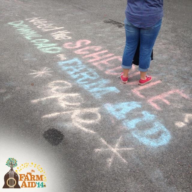 Farm Aid Chalk
