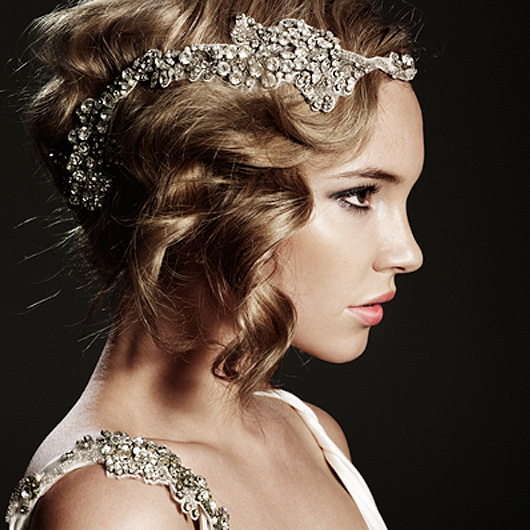 Wedding Hairstyles With Jewels