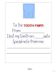 Boy tooth fairy