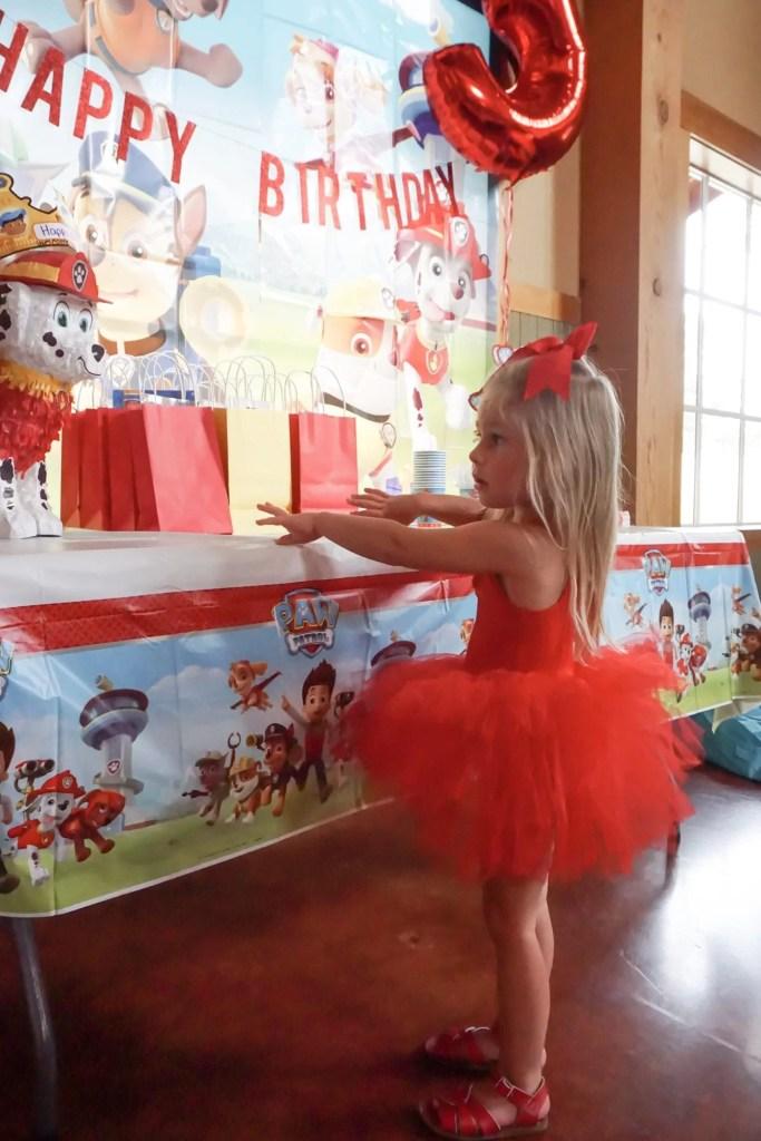 Paw Patrol Birthday Party, toddler birthday party, themed party, girl birthday party, tutu, plum nyc