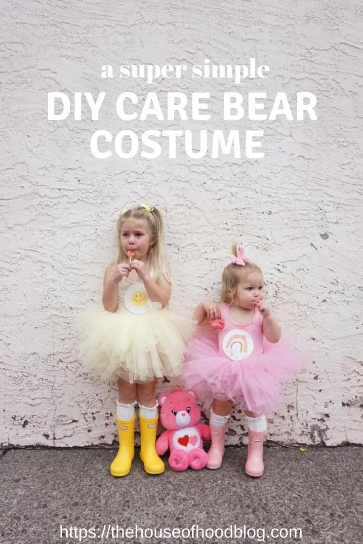 DIY Childrenu0027s Care Bear Costume  sc 1 st  The House of Hood Blog & A DIY Care Bear Costume with Plum NYC - The House of Hood Blog