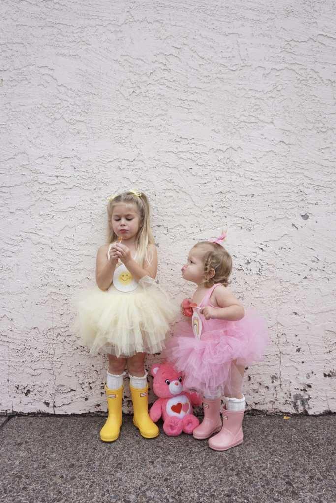 Plum NYC Tutus, DIY Halloween Costumes, toddler hunter boots, toddler style, Halloween, toddler fashion, toddler girl , care bears